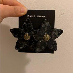 Flower statement earrings from Bauble Bar